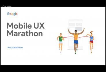 Imagen Destacada: Portada de la presentación del Mobile UX Marathon